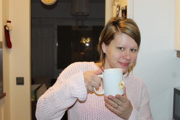 Vähän teetä niin jaksaa taas!