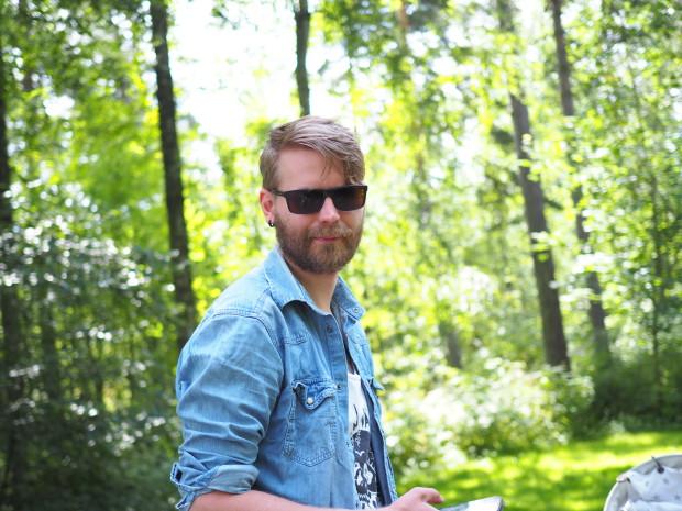 Mun komea mies <3 (paitsi toi parta)