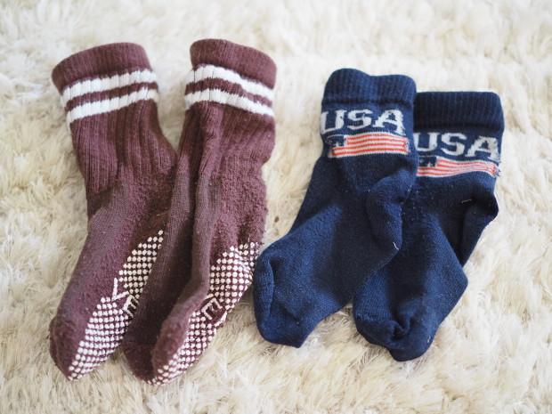 Kaupan päälle sukkia