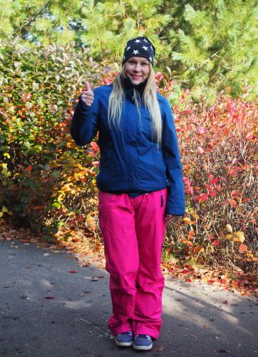 Välikausitakki- ja housut, Icepeak