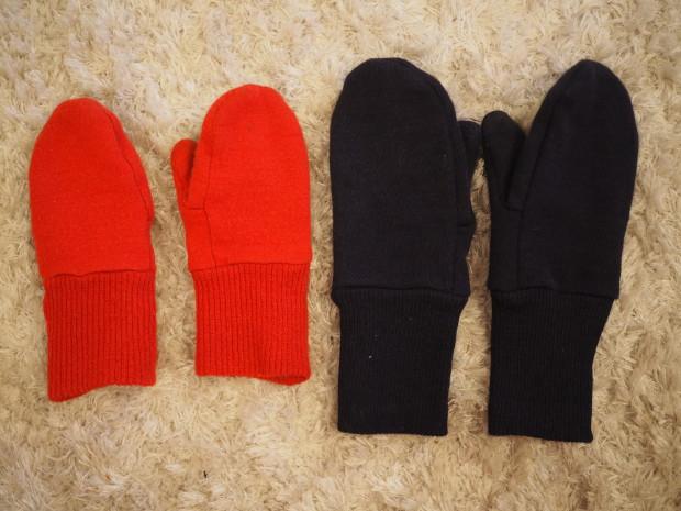 Ruskovillan lapaset lämmittämään talvihanskojen alle oikein kovilla pakkasilla. Lapaset tilattu nettikaupasta Keltainen Kettu