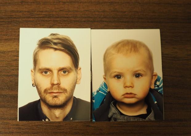 Iskä ja poika <3