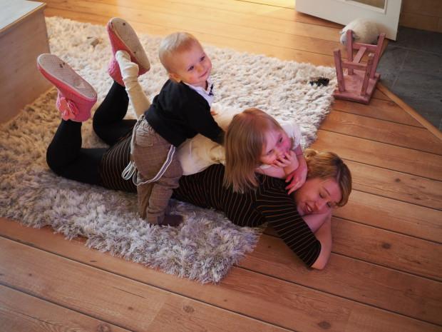 Äiti ja lapset