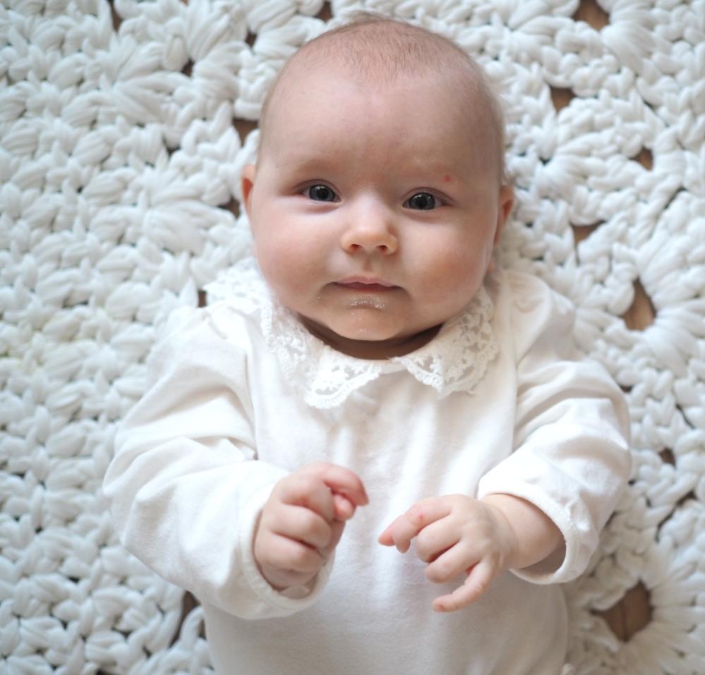 kirjoitus vauvalle
