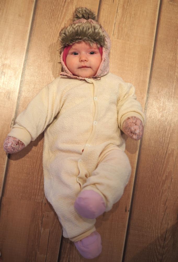 vauvan talvihaalari