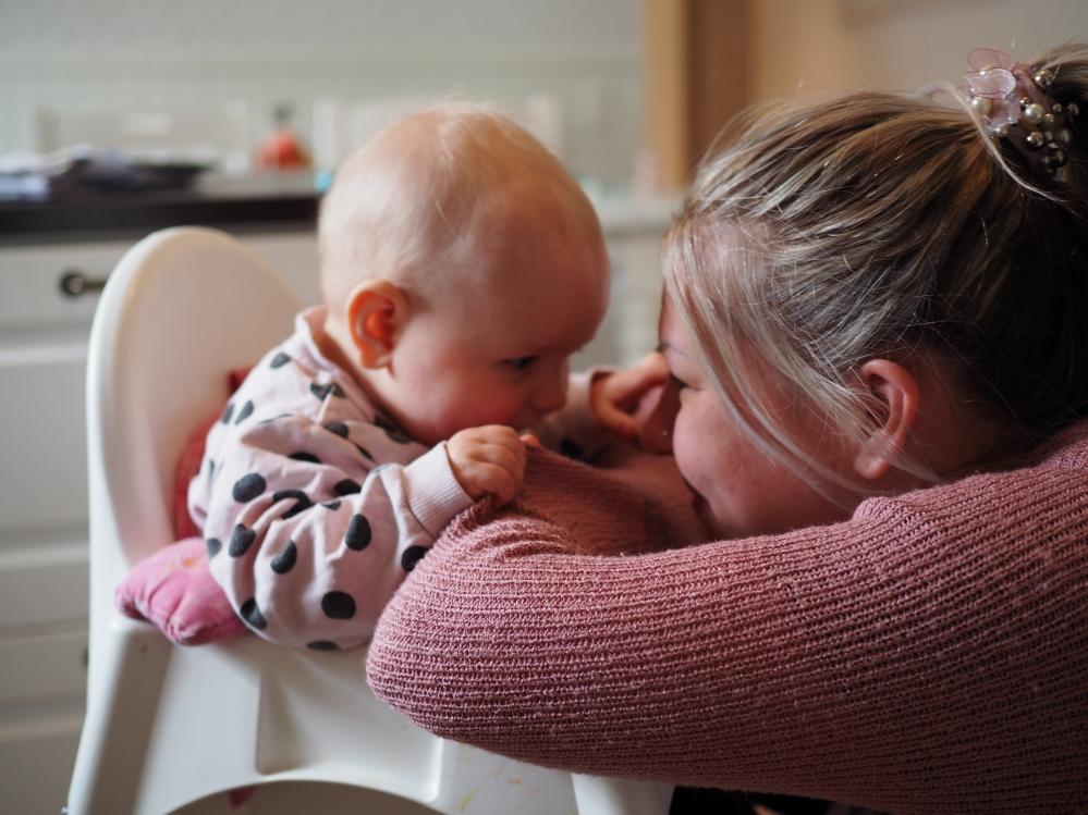vauva 7 kuukautta